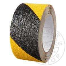 Öntapadó csúszásgátló szalag sárga-fekete