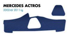 Műszerfal borítás Mercedes Actros (2002-2011) kék