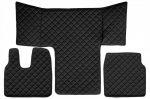 Műbőr teljes padló borítás Man TGL / TGS / TGM FEKETE