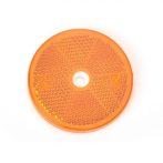 Prizma kerek (60mm) sárga csavarozható