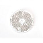 Prizma kerek (60mm) fehér csavarozható