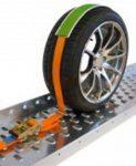 Jármű rögzítő spanifer (5cm széles) 5T 3 pontos rögzítés+csúszásgátló