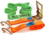 Jármű rögzítő spanifer kengyellel (5 cm széles) 5T