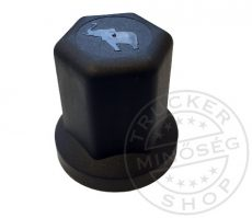 Csavarkupak műanyag fekete 32mm, SCHMITZ