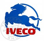 IVECO matrica (29x32cm) színes