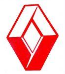 PIROS Renault logó matrica