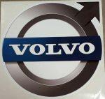 Volvo logo matrica KÉK