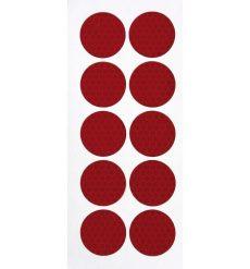 Fényvisszaverő matrica csavarkupakra piros