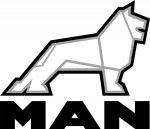 MAN matrica (30x30cm)