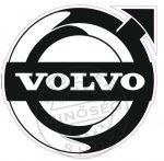 Fényvisszaverő logó VOLVO