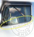 Mercedes Axor inox ablakkeret párban