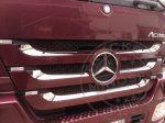 Mercedes Actros MP3 Megaspace inox hűtőrács felső dísz szett