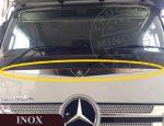 Mercedes Actros MP4 inox embléma dísz