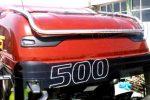 Ford F-Max inox tetőkonzol HOSSZÚ