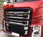 Ford F-Max inox hűtőrács betét szett