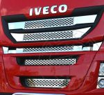 IVECO Stralis Highway inox hűtőrács betét szett
