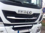 IVECO Stralis Highway inox hűtőrács közép dísz komplett