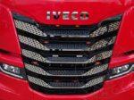 Iveco S-Way inox hűtőrács szett
