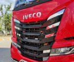 Iveco S-Way inox hűtőrács betét szett
