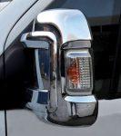 Krómozott tükör borítás Citroën Jumper 2006-tól BAL