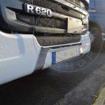 Scania inox dísz rendszám köré