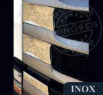 Scania S inox hűtőrács dísz szett a bordák közé