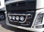 Volvo Euro5 / Euro6 inox front konzol magas