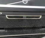 Volvo Euro6 inox hűtőrács felső díszkeret