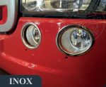 Scania inox ködlámpa keret szett