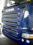 Scania inox felirat 80x12 cm