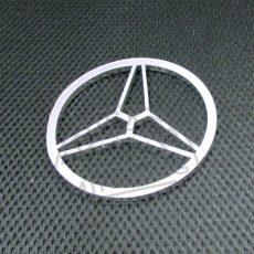 Felakasztható dekor MERDEDES logo krómozott