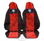 Méretpontos Scania üléshuzat R/P/G széria, Prémium ülés PIROS