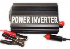 Inverter / Áramátalakító 24V 300W+USB