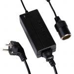 Converter / Transzformátor 220V-->12V 60W lengő aljzattal