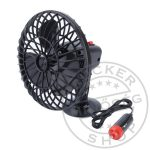 Ventillátor mini 12V tapadókorongos 13cm
