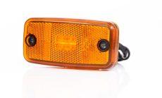 Helyzetjelző lámpa 12/24V (nagy téglalap) ledes, sárga