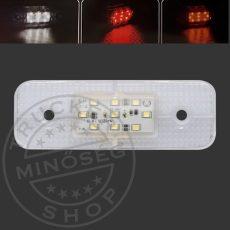 LED helyzetjelző lámpa 12/24V (115x40) fehér