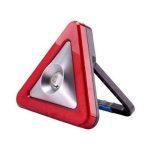 COB LED-es nagy kézi reflektor / vészhelyzeti lámpa NAPELEMES, TÖLTHETŐ