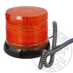 LED sárga villogó 12/24V mágneses