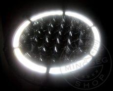 CREE LED fényszóró 12/24V LED GYŰRŰVEL
