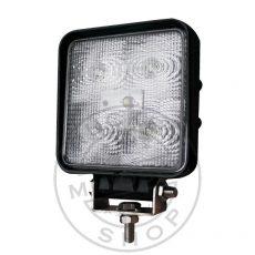 Munkalámpa 5 LED-es (110x110mm) terítő fény