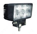 Munkalámpa 6 LED-es (110x60mm) szúró fény