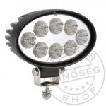 Munkalámpa 8 LED-es ovál terítő fény