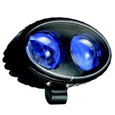 Munkalámpa / jelzőfény KÉK PONT 2 Cree LED 9-64V