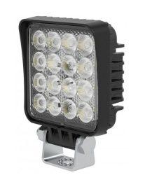 Munkalámpa 16 LED-es (82x82mm) kombinált fény
