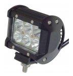 Munkalámpa 6 CREE LED-es (95x80mm) terítő fény