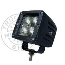 Munkalámpa 4 CREE LED-es (75x85mm) kombinált fény 20W