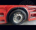 Scania R széria sárvédő perem párban