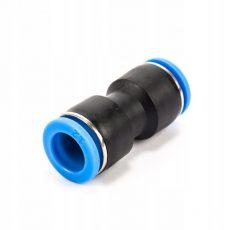 Gyorstoldó egyenes 8mm műanyag