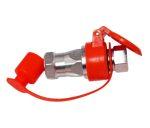 Hidraulika tömlő gyorscsatlakozó párban M22x1,5 piros